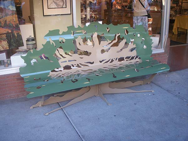 Oak Tree Bench Public Art